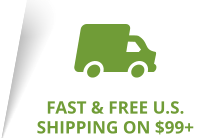 Fast & Free Ground Shipping on $99+