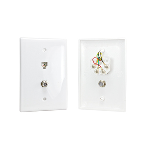 midsize-single-f-81-coax-and-rj-14-wall-plate-3-colors-white-