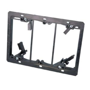 arlington-lv3-pvc-low-voltage-mounting-bracket-three-gang