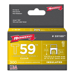 arrow-591189-genuine-t59-insulated-clear-5-16-inch-by-5-16-inch-staples-300-pack