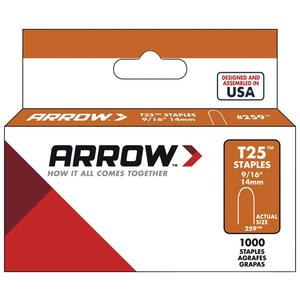 arrow-fastener-t25-9-16-box-of-5000-9-16-t-25-staples