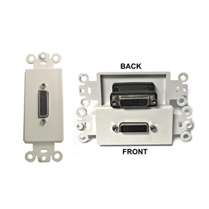 vanco-28-163-dvi-to-dvi-feed-thru-decorator-style-wall-plate-insert
