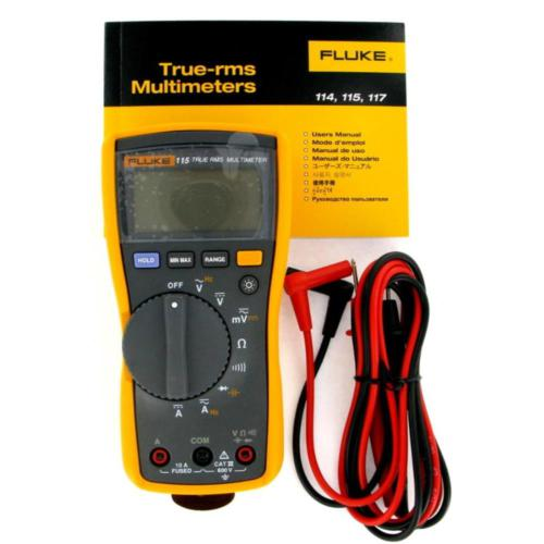 Fluke 115 True-RMS Digital Multimeter FLUKE-115