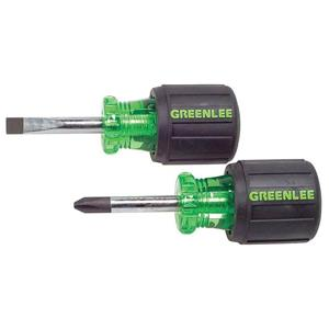 greenlee-0153-04c-stubby-screwdriver-set-2-piece