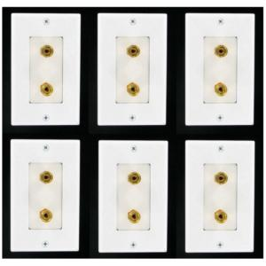 -6-single-speaker-wall-plates-with-gold-plated-posts