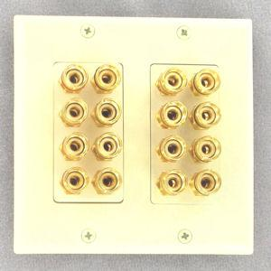 8-speaker-wall-plate-with-gold-plated-binding-posts-ivory
