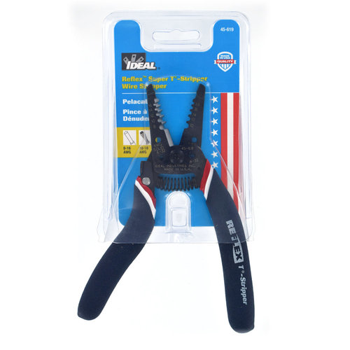 Ideal 45-619 Reflex Super T-Stripper Wire Stripper