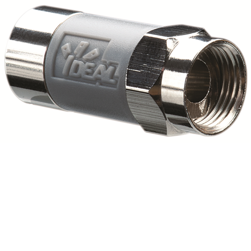 Ideal 85-068 Pack of 10 TLC RG-6 Tool-Less Compression F-Connectors