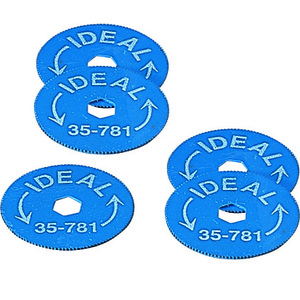 ideal-35-781-replacement-blades-for-rotary-bx-cable-cutter-pack-of-5