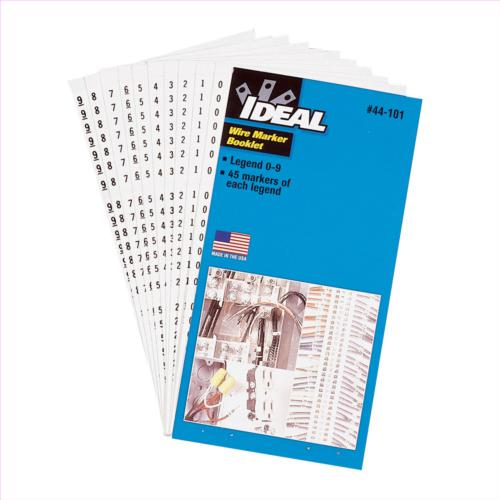 ideal-44-103-wire-marker-booklet-characters-1-45-10-pack---44-103