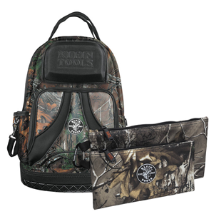 klein-tools-tradesman-pro-organizer-camouflage-backpack-with-free-pair-of-camo-zipper-bags