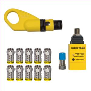 klein-tools-vdv002-820-push-on-connector-installation-and-test-kit