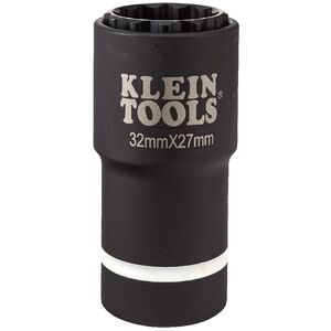 klein-tools-66054e-2-in-1-12-point-32mm-x-27mm-metric-impact-socket