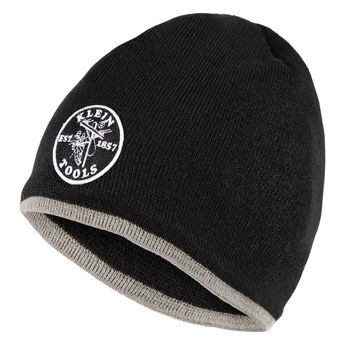 Klein Tools 60158 Tradesman Pro Knit Beanie With Fleece Lining