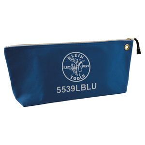 klein-tools-5539lblu-large-blue-canvas-bag-with-zipper