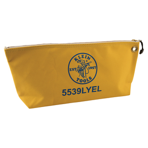 klein-tools-5539lyel-large-yellow-canvas-bag-with-zipper