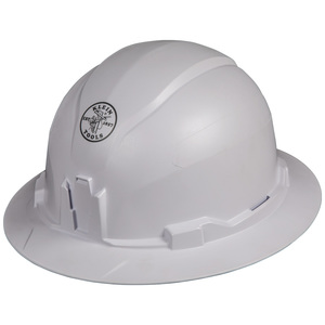 Klein Tools 60400 Non-Vented Full Brim Style Hard Hat