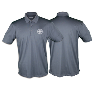 klein-tools-mba00048-gray-short-sleeved-sport-tek-polo-shirt