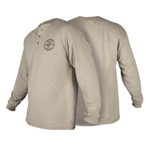 klein-tools-mba00127-long-sleeve-hanes-henley-with-klein-lineman-logo