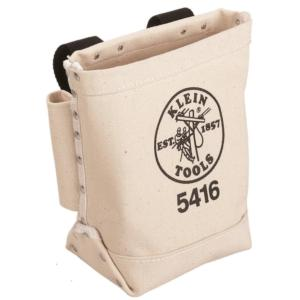 Klein 5416 Bull Pin And Bolt Canvas Bag