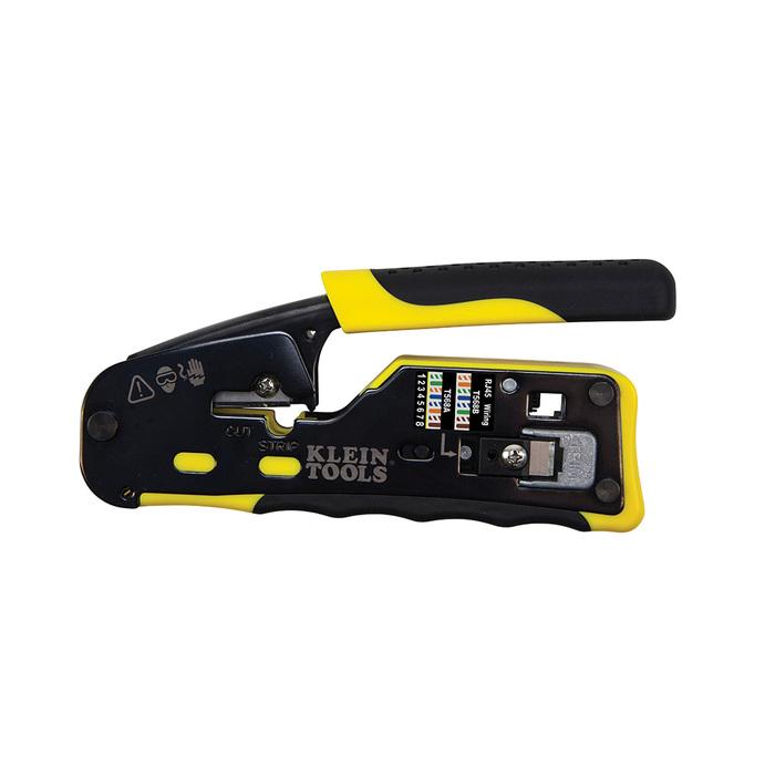 klein tools vdv226 110 pass thru modular crimper RJ45 Ethernet Cable Wiring Diagram