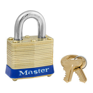 master-lock-4ka3900-1-9-16-wide-laminated-brass-pin-tumbler-padlock-keyed-alike