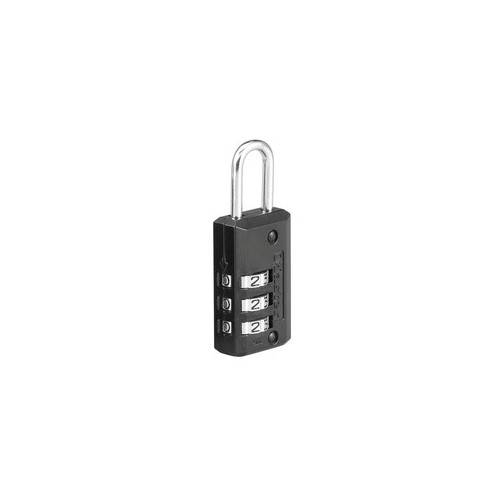 "Master Lock 646D Black 13/16"" Wide Set Your Own Combination Lock"