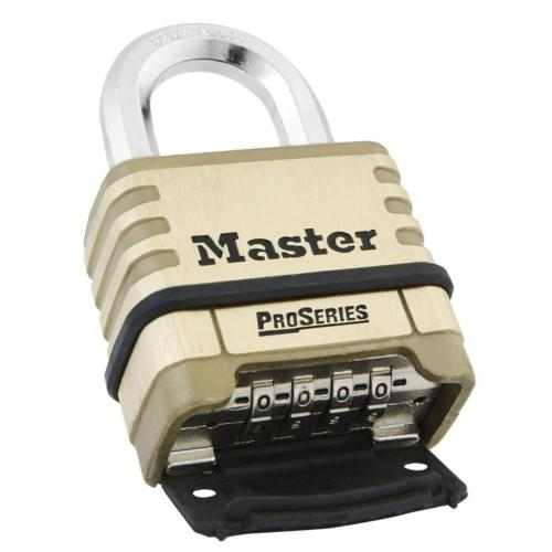 Master Lock 1175D ProSeries Shrouded Resettable Combination Padlock