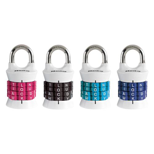 Master Lock 1535DWD Personalized Letter Combination Padlock