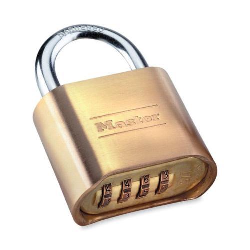 e6184e786c32 Master Lock 175D 4 Digit Resettable Combination Padlock