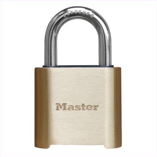 Master Lock 975 Brass Resettable Combination Padlock Hns