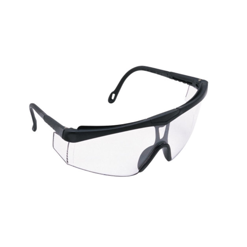 19142 Safety Glasses Cudas - Black Frame - Clear Lens | HNS Tools