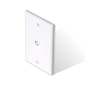 13wpwh-wall-plate-hex-hole-centered-white