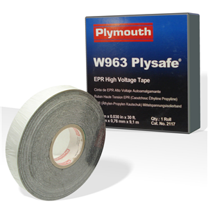 plymouth-rubber-2145-2-x-030-x-30-high-voltage-insulating-tape-with-liner