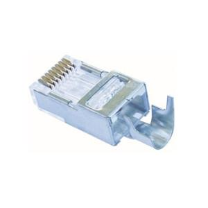 platinum-tools-100023c-pack-of-10-shielded-cat5e-cat6-ez-rj45-connectors-with-external-ground