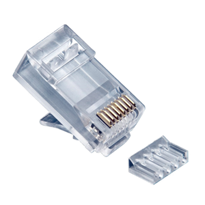 platinum-tools-106188j-jar-of-100-2-peice-rj45-8p8c-cat6-round-solid-3-prong-connectors