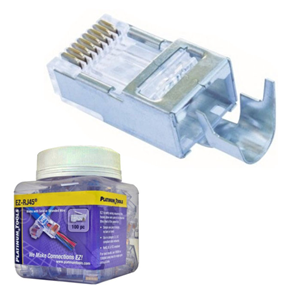 platinum-tools-202022j-jar-of-50-shielded-cat5e-6-ez-rj45-connectors-with-external-ground