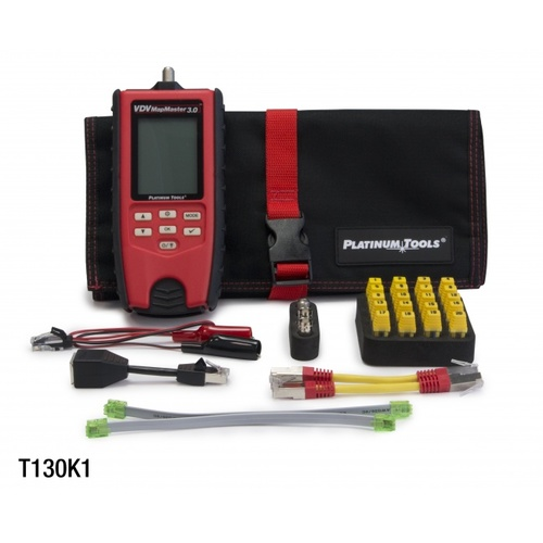 Platinum Tools T130K1 VDV MapMaster 3.0 Cable Tester Kit