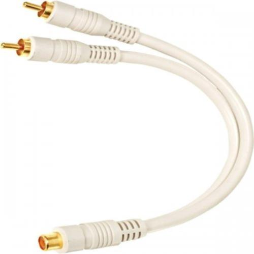 "steren-254-207iv-python-6""-home-theater-y-cable---dual-males-to-single-female-rca-adapter"