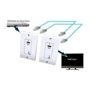 hdmi-wall-plate-extender-280715-2-utp-cables-with-ir-control-100-ft-30m