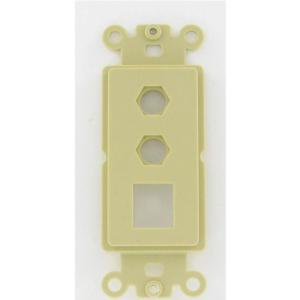 vanco-820315x-1-keystone-and-2-hex-cavity-decorator-styler-wall-plate-insert-ivory