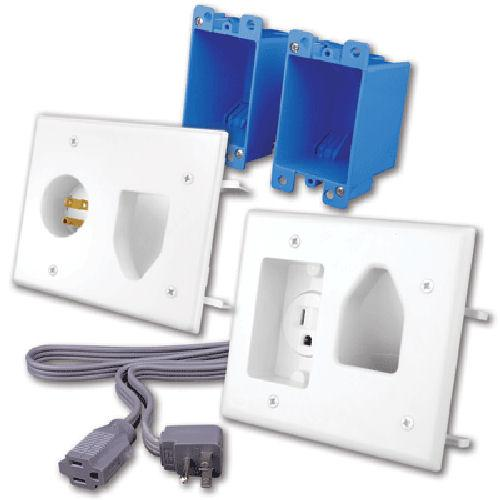 vanco-rl121204-wh-rapid-link-power-in-wall-power-and-rated-av-cable-installation---white