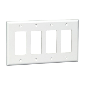 vericom-xfptp-00490-white-decora-four-gang-wall-plate