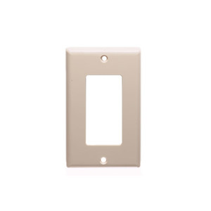 vericom-xfptp-00505-almond-decora-style-single-gang-wall-plate